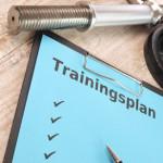 Effektiver Trainingsplan mit Hanteln für Zuhause