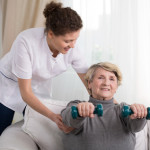 Hanteln in der Physiotherapie