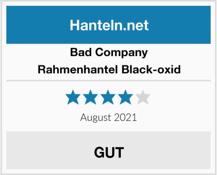 Bad Company Rahmenhantel Black-oxid Test
