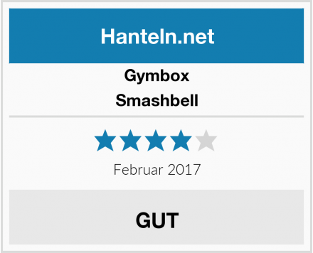 Gymbox Smashbell Test