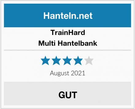 TrainHard Multi Hantelbank Test