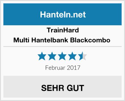 TrainHard Multi Hantelbank Blackcombo  Test