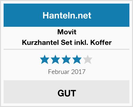 Movit Kurzhantel Set inkl. Koffer Test