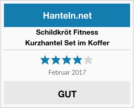 Schildkröt Fitness Kurzhantel Set im Koffer Test