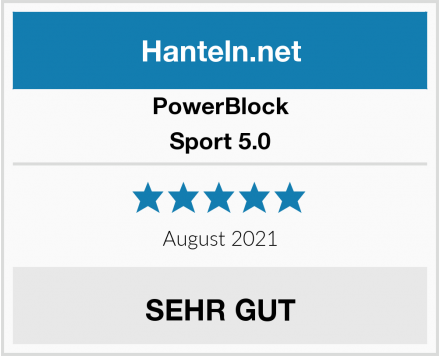 PowerBlock Sport 5.0 Test