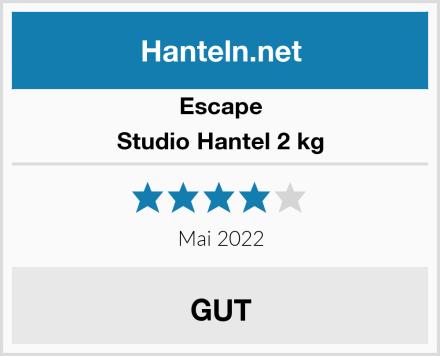 Escape Studio Hantel 2 kg Test
