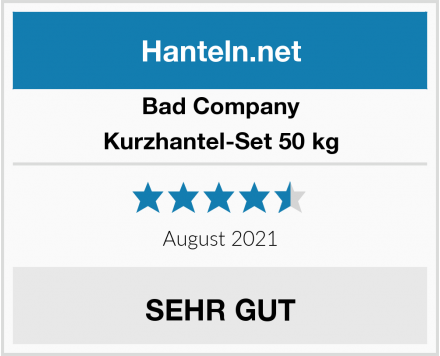 Bad Company Kurzhantel-Set 50 kg Test