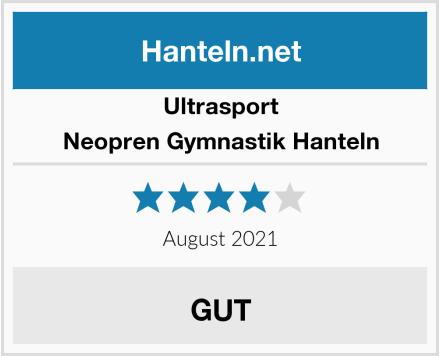 Ultrasport Neopren Gymnastik Hanteln Test