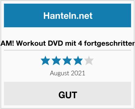 No Name Hyperwear SandBell SLAM! Workout DVD mit 4 fortgeschrittenen Sandbell-Gewichten Test