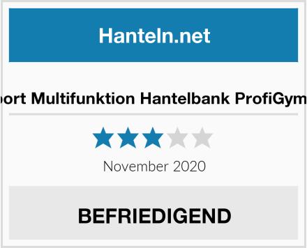 ArtSport Multifunktion Hantelbank ProfiGym 1000 Test