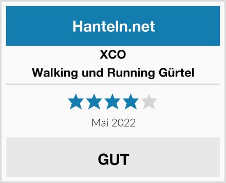 XCO Walking und Running Gürtel Test