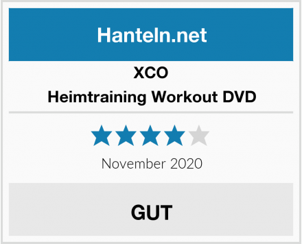 XCO Heimtraining Workout DVD Test