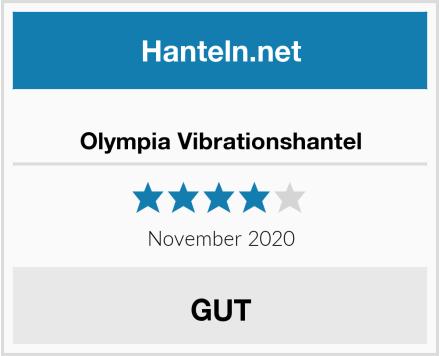 Olympia Vibrationshantel Test