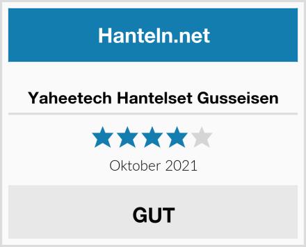 Yaheetech Hantelset Gusseisen Test