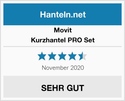 Movit Kurzhantel PRO Set Test