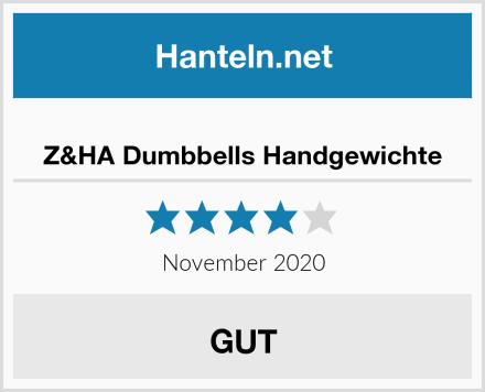 Z&HA Dumbbells Handgewichte Test