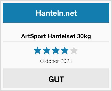 ArtSport Hantelset 30kg Test