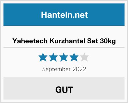 Yaheetech Kurzhantel Set 30kg Test