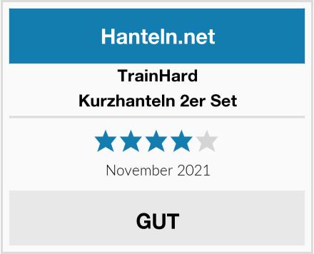 TrainHard Kurzhanteln 2er Set Test