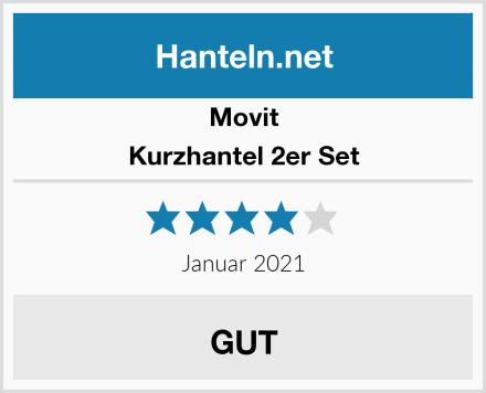 Movit Kurzhantel 2er Set Test