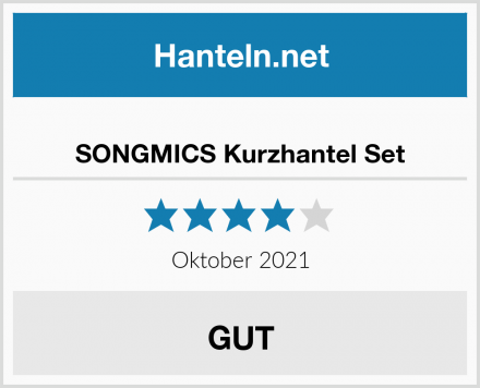 SONGMICS Kurzhantel Set Test
