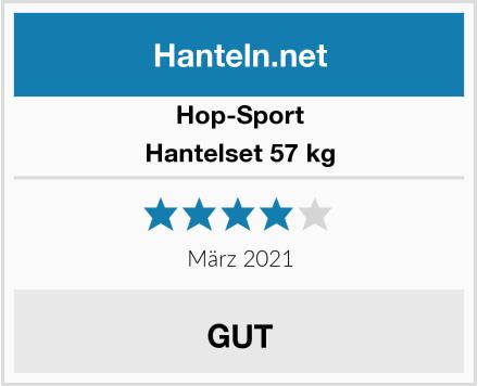 Hop-Sport Hantelset 57 kg Test