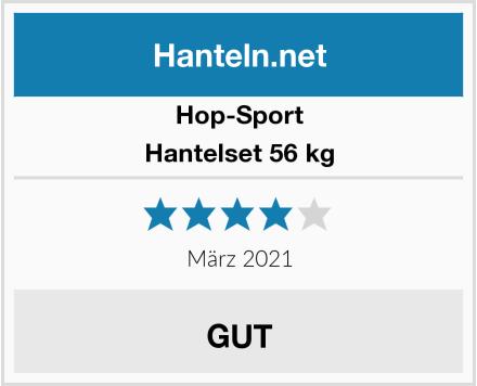 Hop-Sport Hantelset 56 kg Test