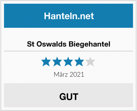 St Oswalds Biegehantel Test