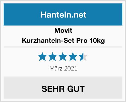 Movit Kurzhanteln-Set Pro 10kg Test