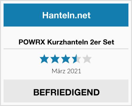 POWRX Kurzhanteln 2er Set Test