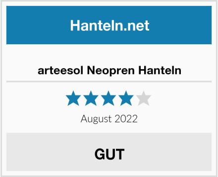 arteesol Neopren Hanteln Test