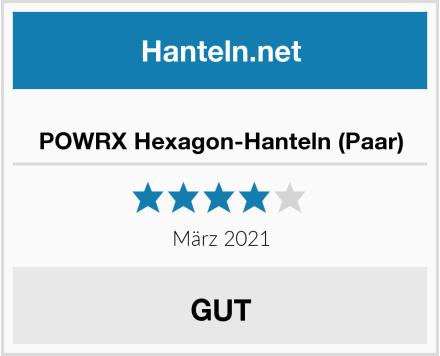 POWRX Hexagon-Hanteln (Paar) Test