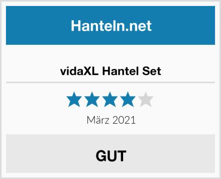 vidaXL Hantel Set Test