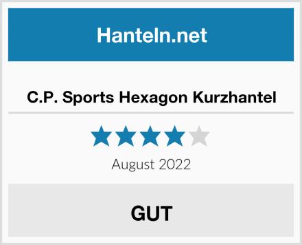 C.P. Sports Hexagon Kurzhantel Test
