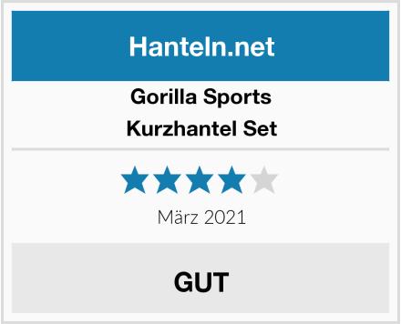 Gorilla Sports Kurzhantel Set Test