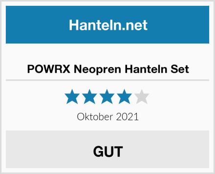 POWRX Neopren Hanteln Set Test