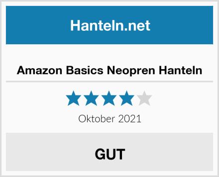 Amazon Basics Neopren Hanteln Test