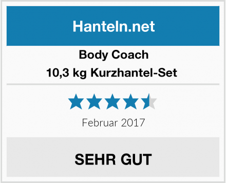 Body Coach 10,3 kg Kurzhantel-Set  Test
