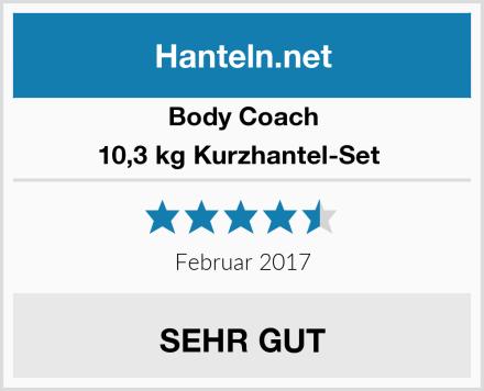 Body Coach 10,3 kg Kurzhantel-Set  Test