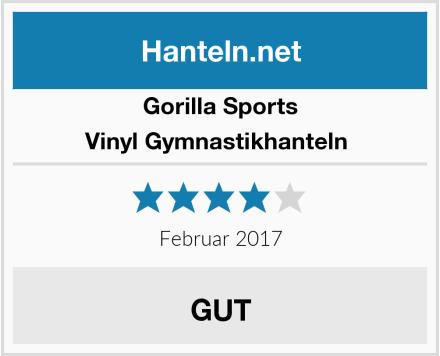 Gorilla Sports Vinyl Gymnastikhanteln  Test