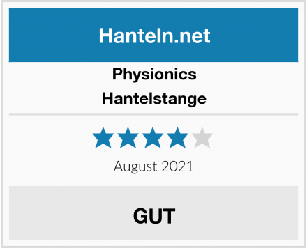 Physionics Hantelstange Test