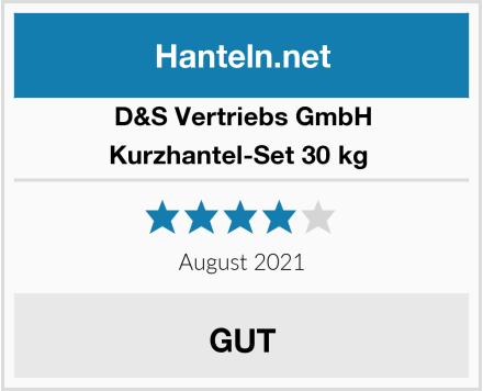 D&S Vertriebs GmbH Kurzhantel-Set 30 kg  Test