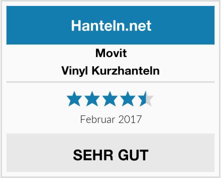 Movit Vinyl Kurzhanteln Test