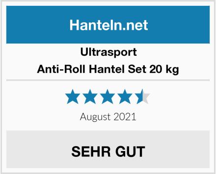 Ultrasport Anti-Roll Hantel Set 20 kg Test