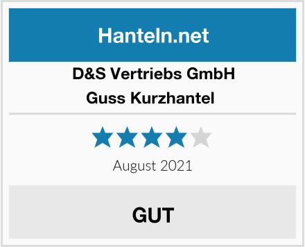 D&S Vertriebs GmbH Guss Kurzhantel  Test