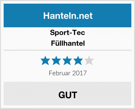 Sport-Tec Füllhantel Test