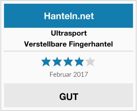 Ultrasport Verstellbare Fingerhantel Test