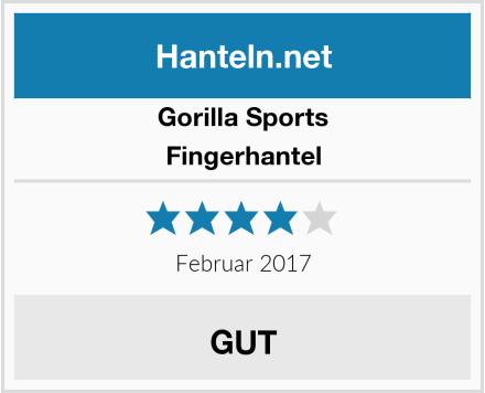 Gorilla Sports Fingerhantel Test