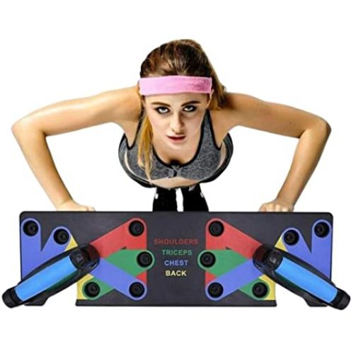Hihey 9 in 1 Push Up Rack Board System