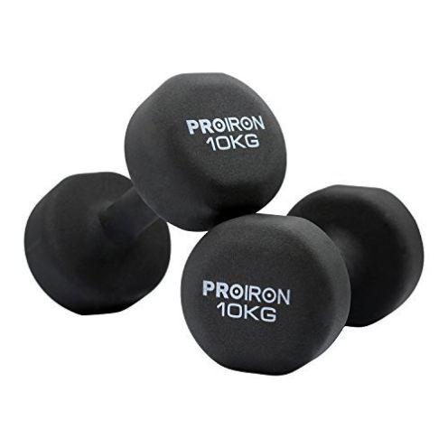 PROIRON Neopren-Hanteln 10kg